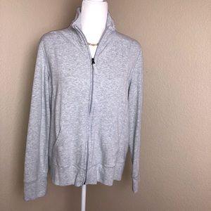 L.L.Bean Women Misses Sweater Full-Zip Jacket PL